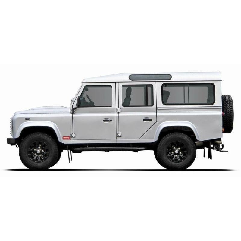 h herlegungsfahrwerk trekfinder f r land rover defender 110. Black Bedroom Furniture Sets. Home Design Ideas
